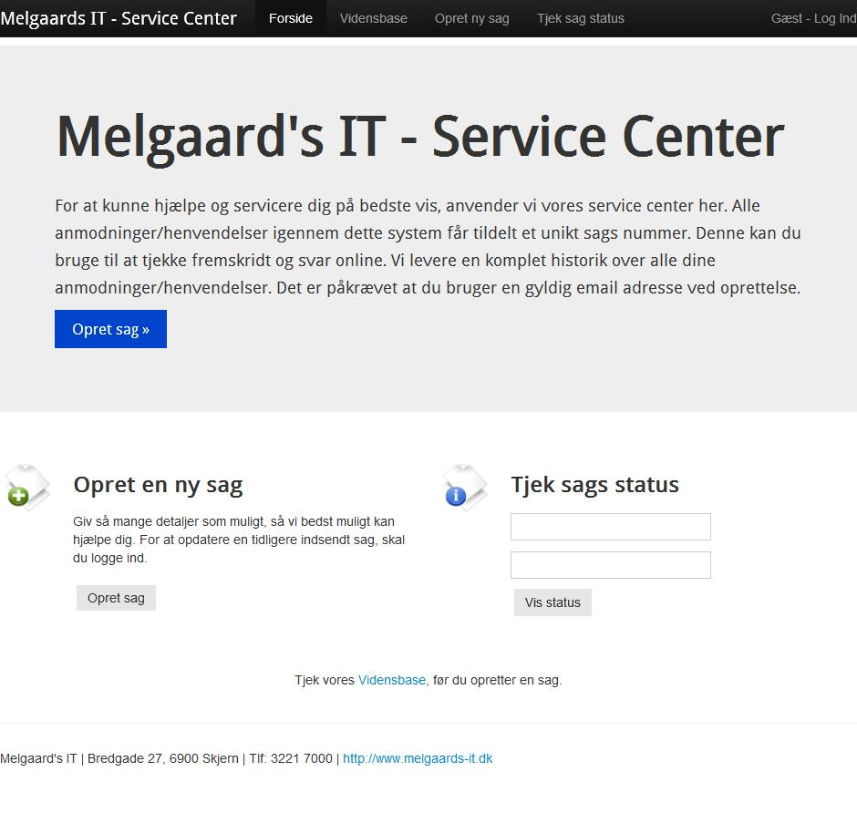Detaljer : Melgaard's IT - Service Center