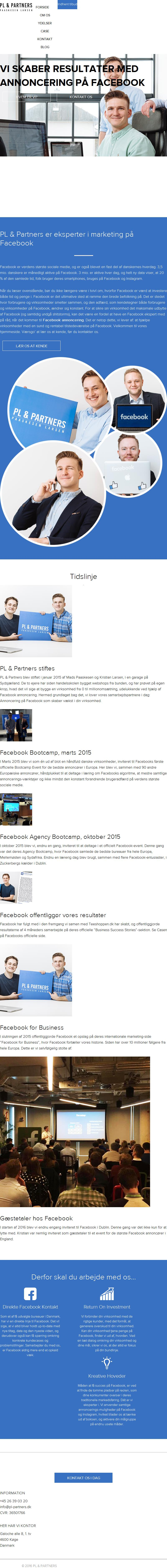 Detaljer : Facebook Marketing Bureau