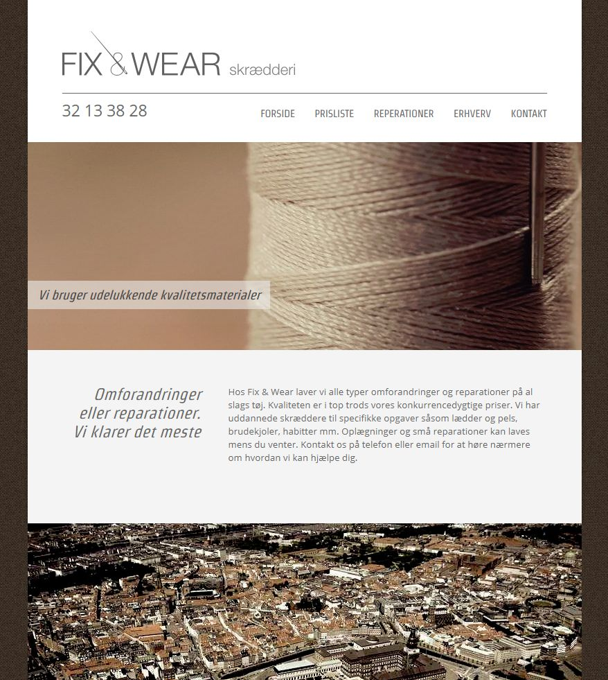 Detaljer : Fix & Wear