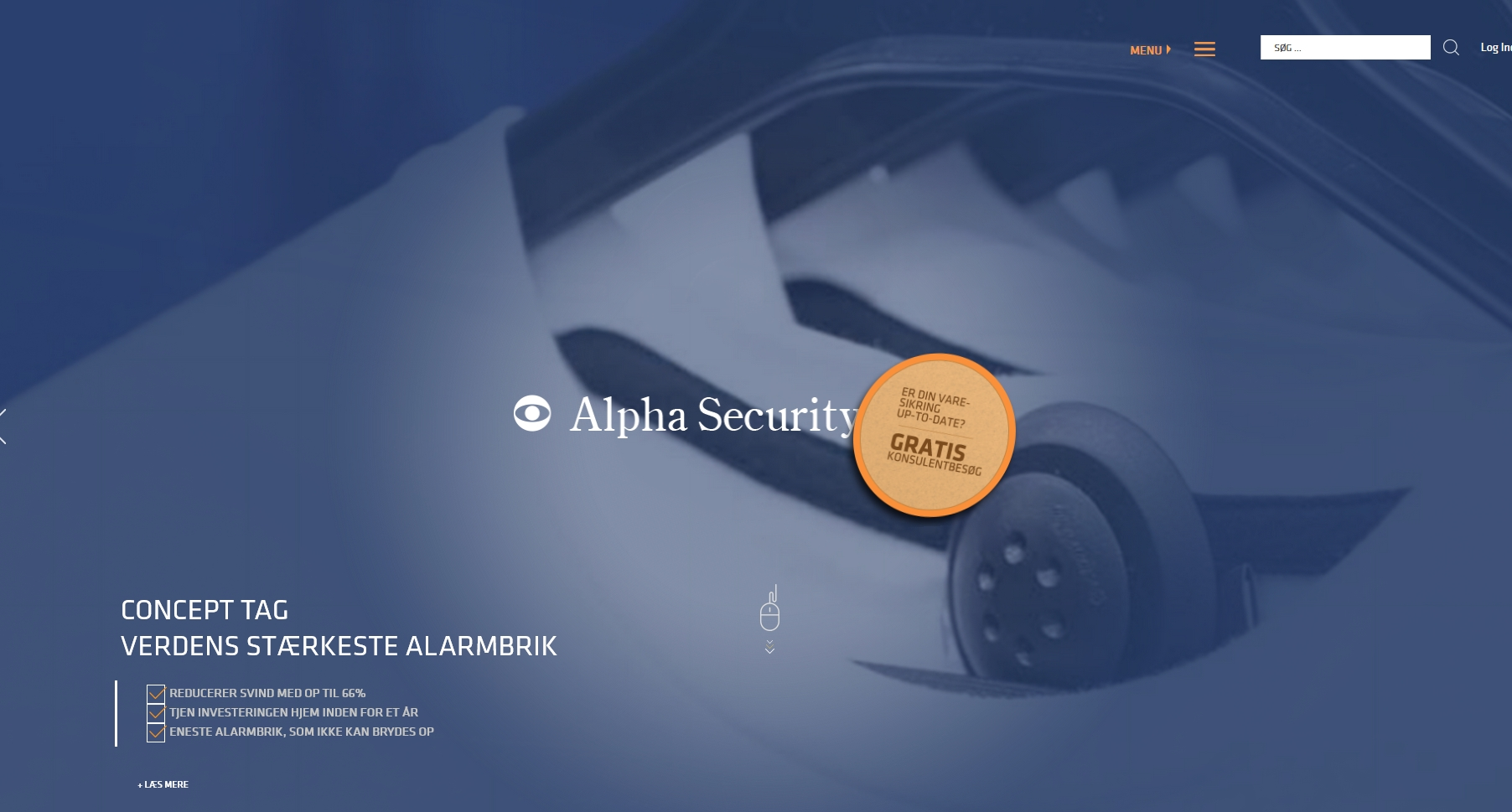 Detaljer : Alpha Security ApS
