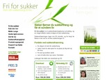 Detaljer : Fri for sukker