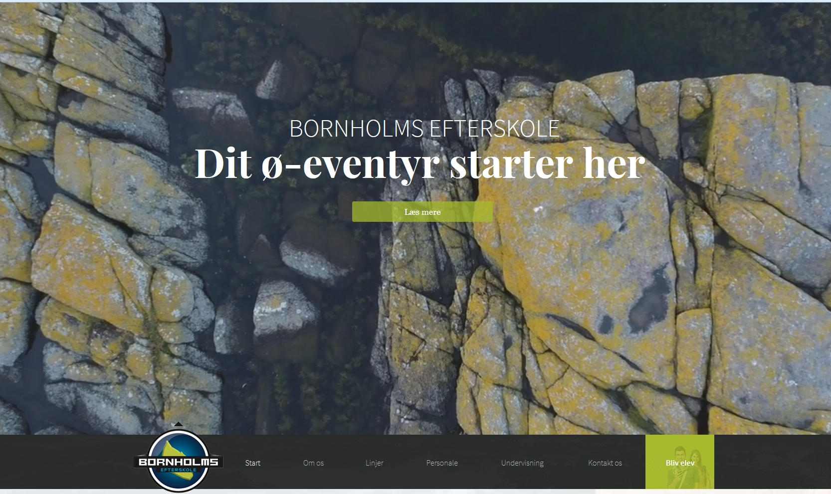 Bornholms Efterskole Adventure, Mountainbike,Pixellab