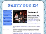 Detaljer : Alt festmusik med Party Duo'en