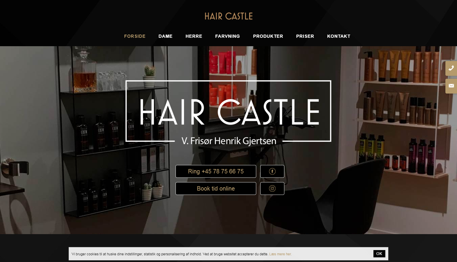 Detaljer : Hair Castle