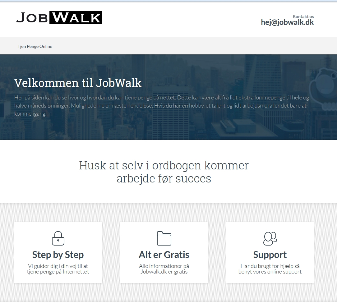 Detaljer : Jobwalk Magasin