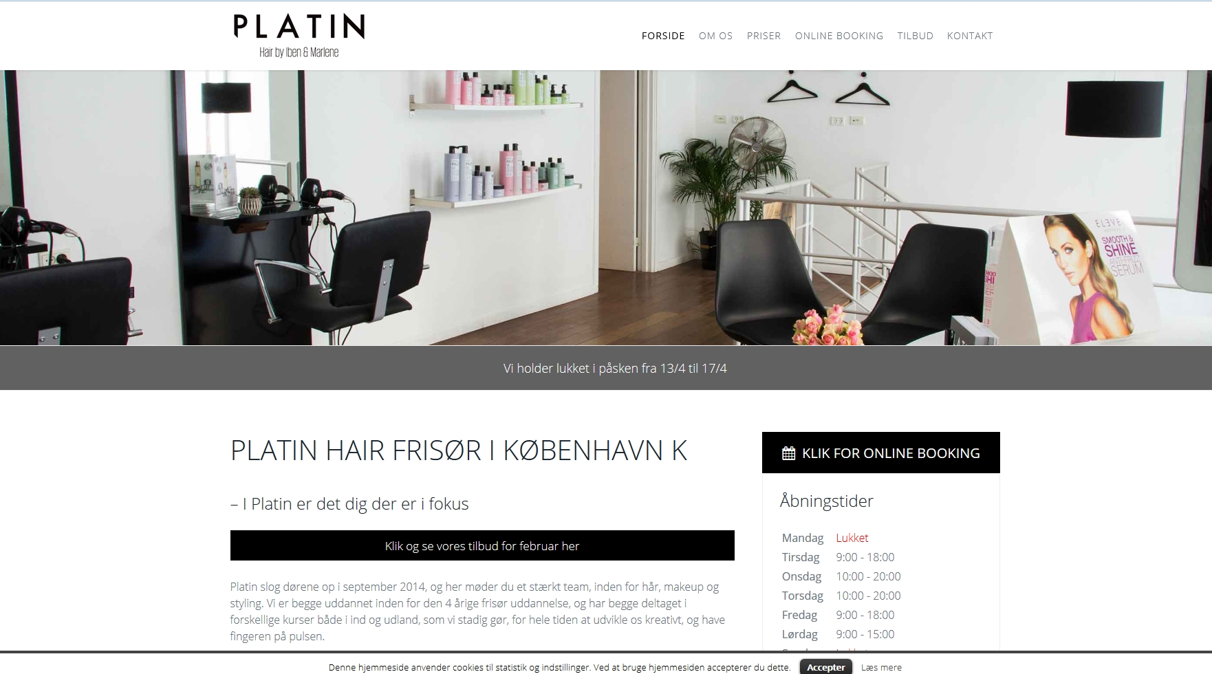 Salon Platin ApS
