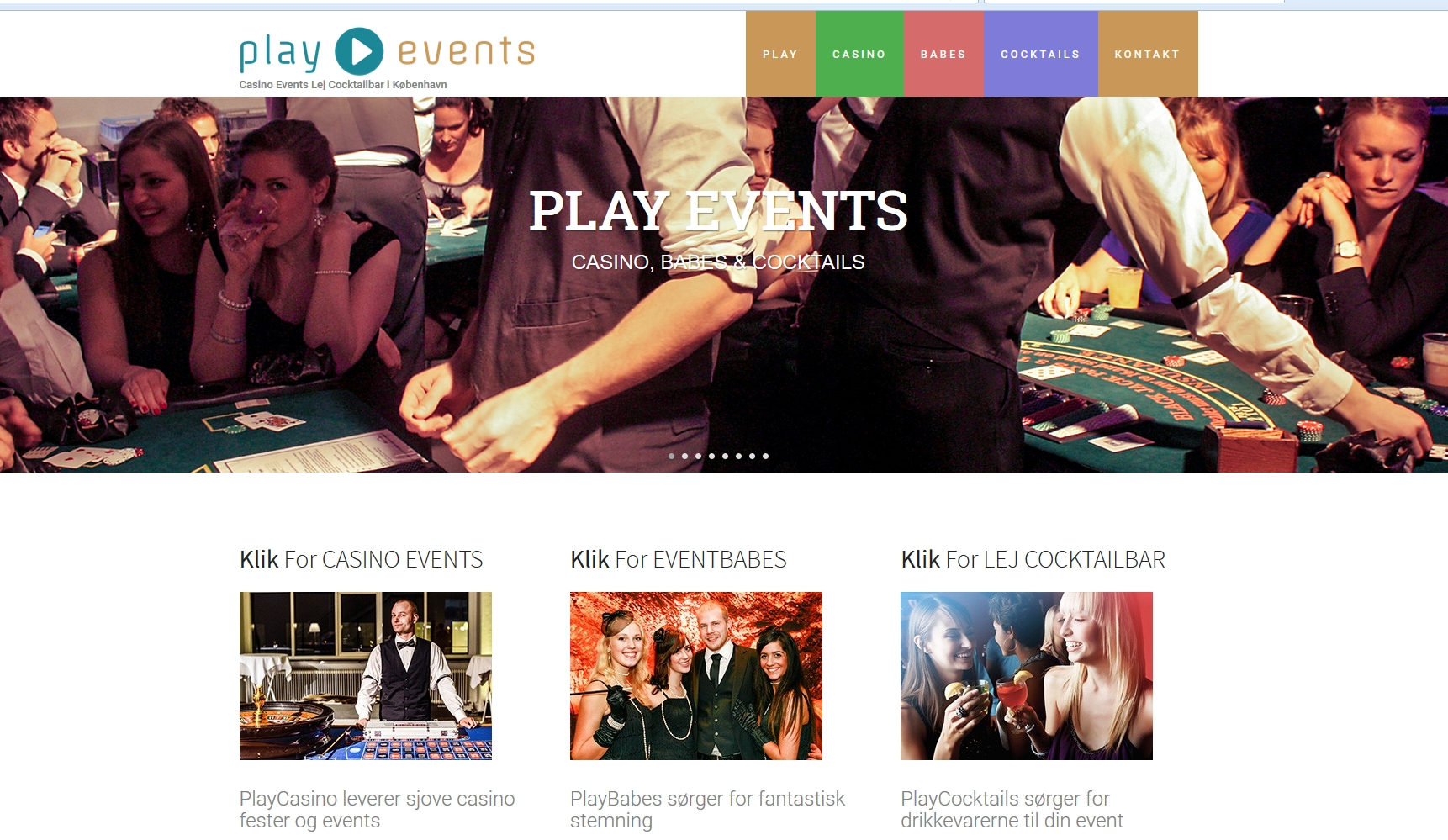 Casino Event med Playevents