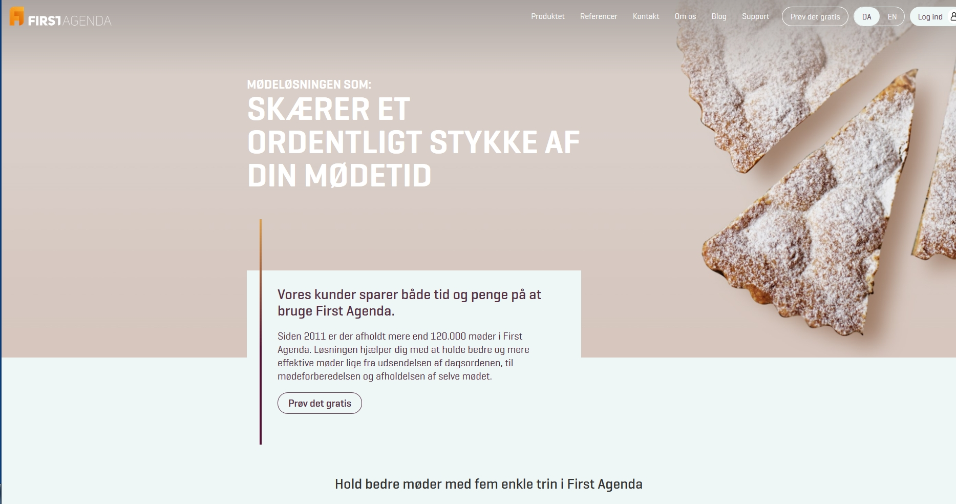 Detaljer : Firstagenda