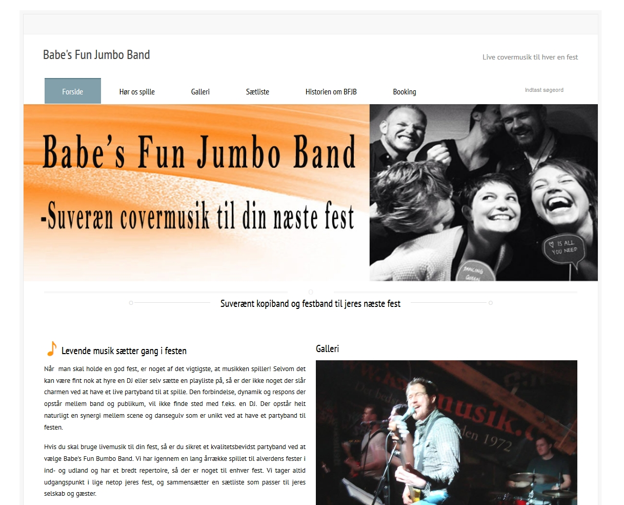 Forside for Babe's Fun Jumbo Band