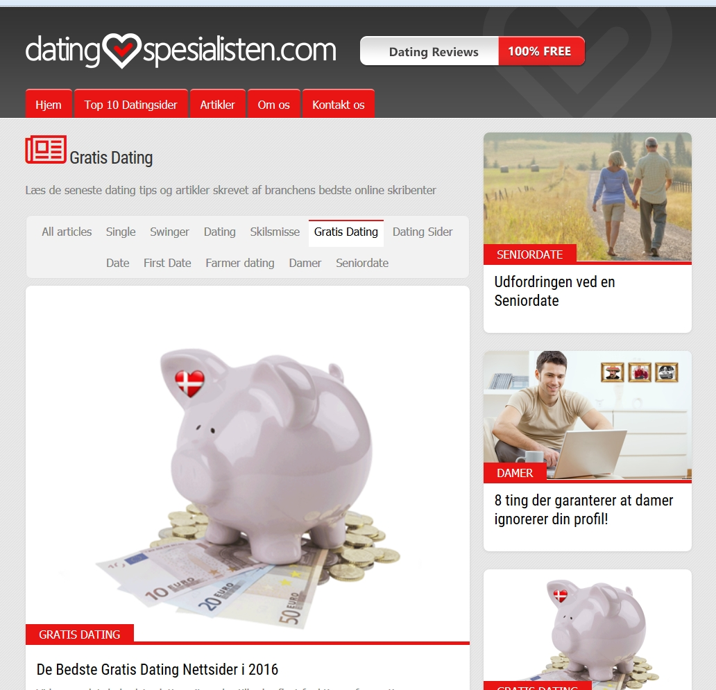 Detaljer : gratis dating sites danmark