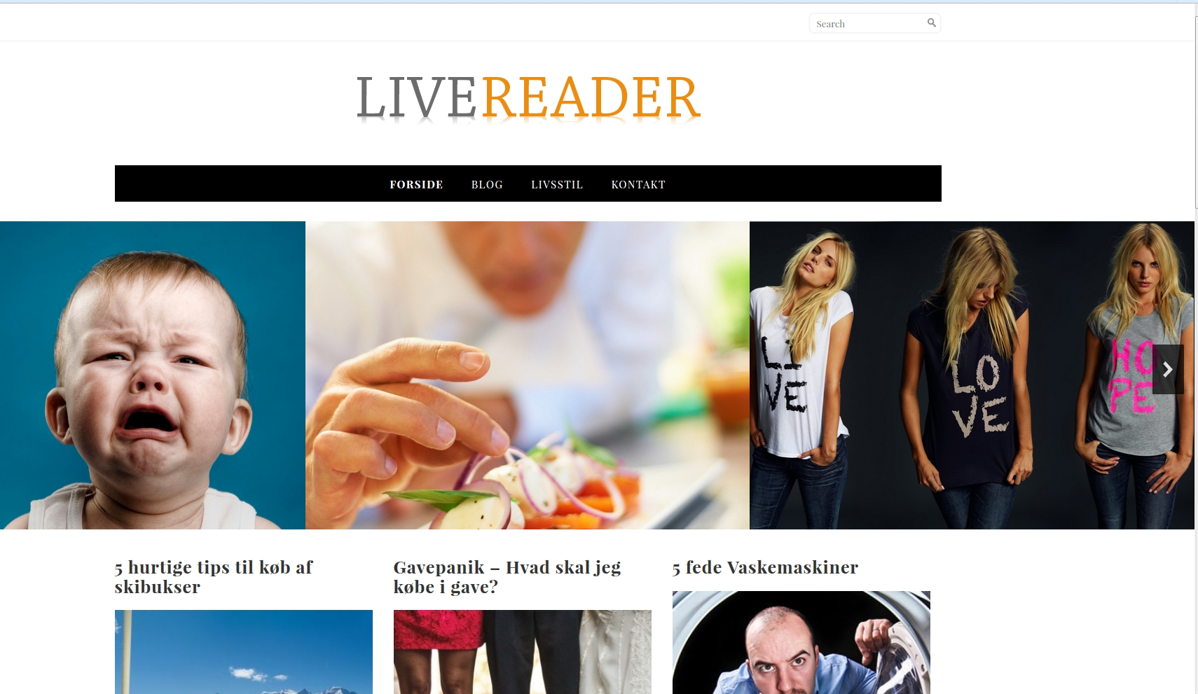 Detaljer : Livereader